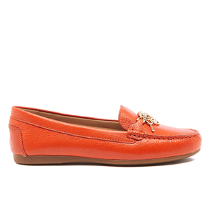 MICHAEL MICHAEL KORS Women's Suki Leather Moccassins - Mimosa