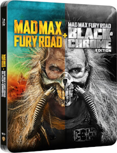 Mad Max: Fury Road Black & Chrome Edition - Zavvi UK Exklusives Steelbook (Inklusive Colour Theatrical Schnitt)