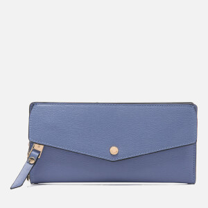 Dune Women's Kiara Envelope Fold Over Purse - Blue