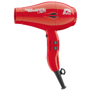 Secador de pelo iónico Advance Light de Parlux - Rojo