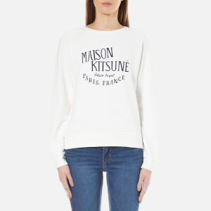 Maison Kitsuné Women's Royal Sweatshirt - Latte