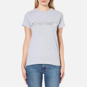 Maison Kitsuné Women's Parisienne T-Shirt - Light Grey Melange