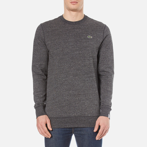 Lacoste L!ve Men's Crew Neck Sweatshirt - Carthusian Chine