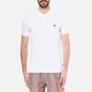 PS by Paul Smith Men's Regular Fit Polo Shirt - White