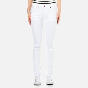 Nudie Jeans Women's Skinny Lin Jeans - Blazing White