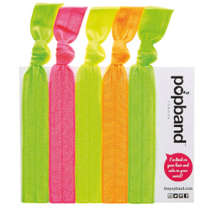 Popband London Hair Ties - Glo