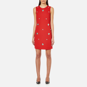 Versus Versace Women's Studded Shift Dress - Fire