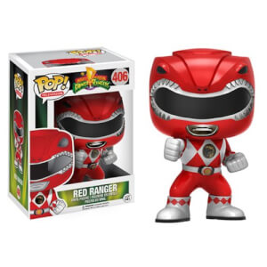 Figurine Power Rangers Ranger Rouge Funko Pop!