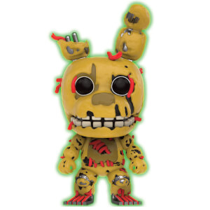 Five Nights at Freddys Springtrap GITD LE Pop! Vinyl Figure