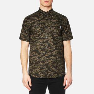 Carhartt Men's Short Sleeve Camo Tiger Shirt - Camo Tiger
