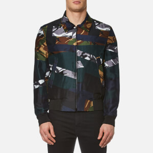 KENZO Men's Silk Camo Jacket - Midnight Blue