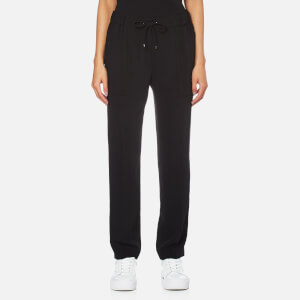 KENZO Women's Soft Crepe Trousers - Black
