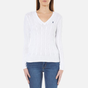 Polo Ralph Lauren Women's Kimberly Jumper - White