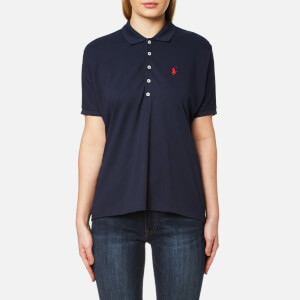 Polo Ralph Lauren Women's Poncho Polo T-Shirt - Newport Navy