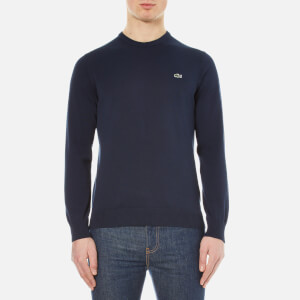 Lacoste Men's Crew Neck Jumper - Navy