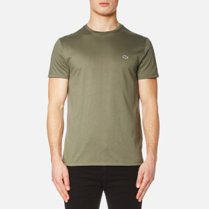 Lacoste Men's Basic Crew Neck T-Shirt - Army