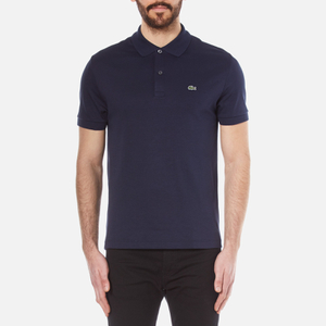 Lacoste Men's Classic Logo Pima Polo Shirt - Navy