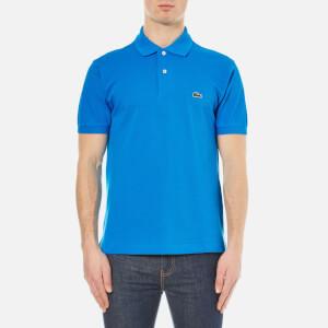 Lacoste Men's Short Sleeve Pique Polo Shirt - Loire Blue