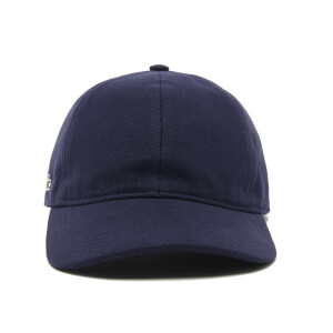 Lacoste Men's Side Logo Baseball Cap - Navy