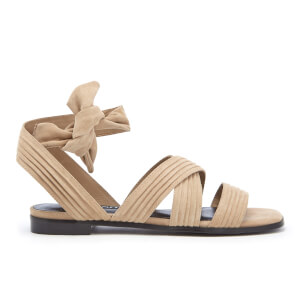 Senso Women's Haley Suede Strappy Sandals - Sand