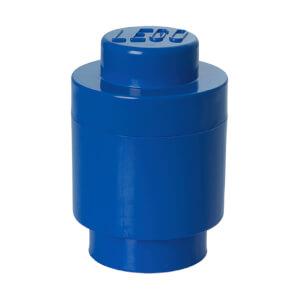 Brique de rangement Ronde LEGO® Bleue 1 tenon