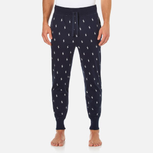 Polo Ralph Lauren Men's Branded Waistband Lounge Jog Pants - Cruise Navy