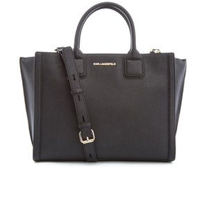 Karl Lagerfeld Women's K/Klassik Office Tote Bag - Black