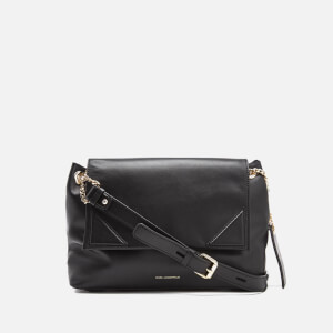 Karl Lagerfeld Women's K/Slouchy Shoulder Bag - Black