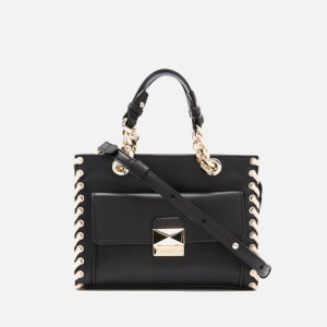 Karl Lagerfeld Women's K/Whipstitch Mini Tote Bag - Black