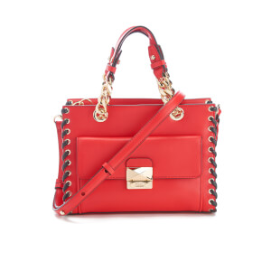 Karl Lagerfeld Women's K/Whipstitch Mini Tote Bag - Scarlet