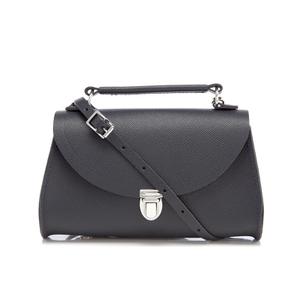 The Cambridge Satchel Company Women's Mini Poppy Bag - Navy Saffiano