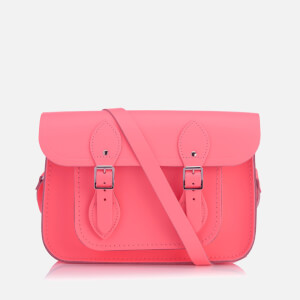 "The Cambridge Satchel Company Women's 11"" Magnetic Satchel - Neon Coral"