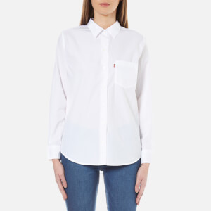 Levi's Women's Sidney 1 Pocket Boyfriend Shirt - Bright White
