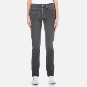 Levi's Women's 501 Skinny Jeans - Black Coast