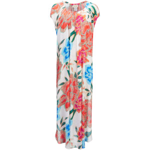 Mara Hoffman Women's Arcadia Dashiki Dress - White/Pink