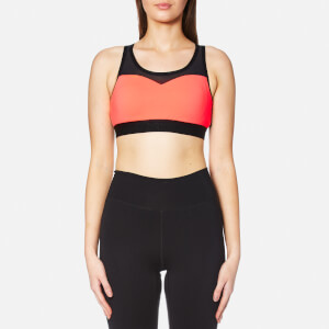 Superdry Women's Gym Mesh Sports Bra - Shocking Red