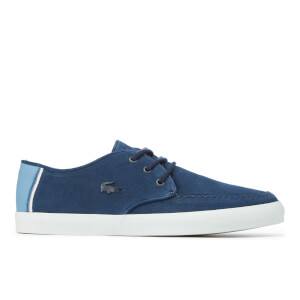 Lacoste Men's Sevrin 316 1 Suede Boat Shoes - Navy