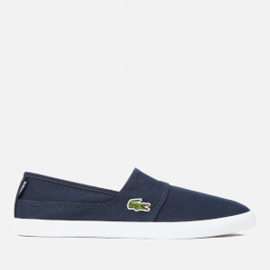 Lacoste Men's Marice Bl 2 Canvas Slip-On Pumps - Dark Blue/Dark Blue