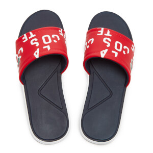 Lacoste Men's L.30 Slide 117 2 Slide Sandals - Red