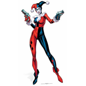 DC Comics Life Size Harley Quinn Cut Out from I Want One Of Those