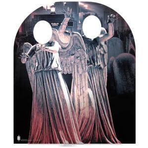 Silhouette Découpée en Carton Ange Pleureur Doctor Who
