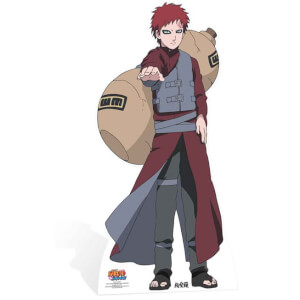 Silhouette Découpée en Carton Naruto Gaara
