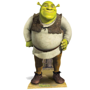 Shrek Stand In Cut Out