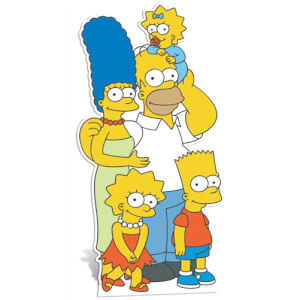 The Simpsons Family Stand In Kartonnen Figuur