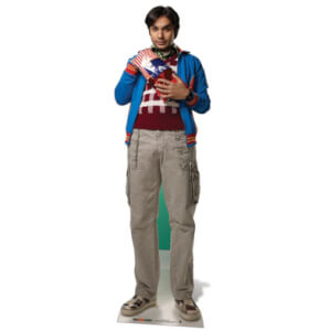 The Big Bang Theory Dr. Raj Koothrappali Life Size Cut Out