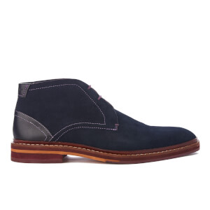 Ted Baker Men's Azzlan Suede Desert Boots - Dark Blue