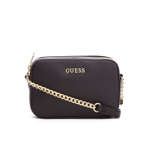 Guess Women's Isabeau Mini Cross Body Top Zip Bag - Black