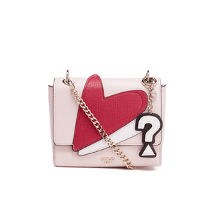 Guess Women's Pinup Pop Crossbody Flap Bag - Cameo