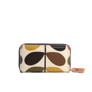 Orla Kiely Women's Stem Big Zip Wallet - Multi