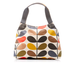 Orla Kiely Women's Stem Classic Zip Shoulder Bag - Multi